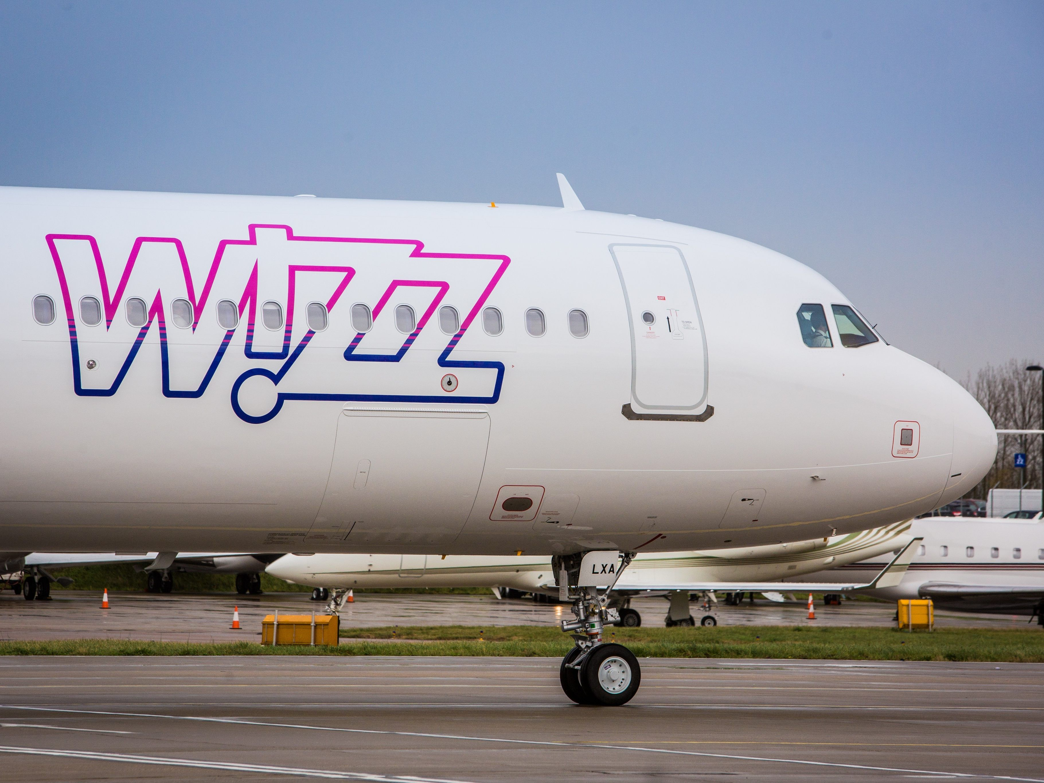 Wizz Air Only Two Flights Took Off In Vienna Today Coronavirus Vienna World Today News