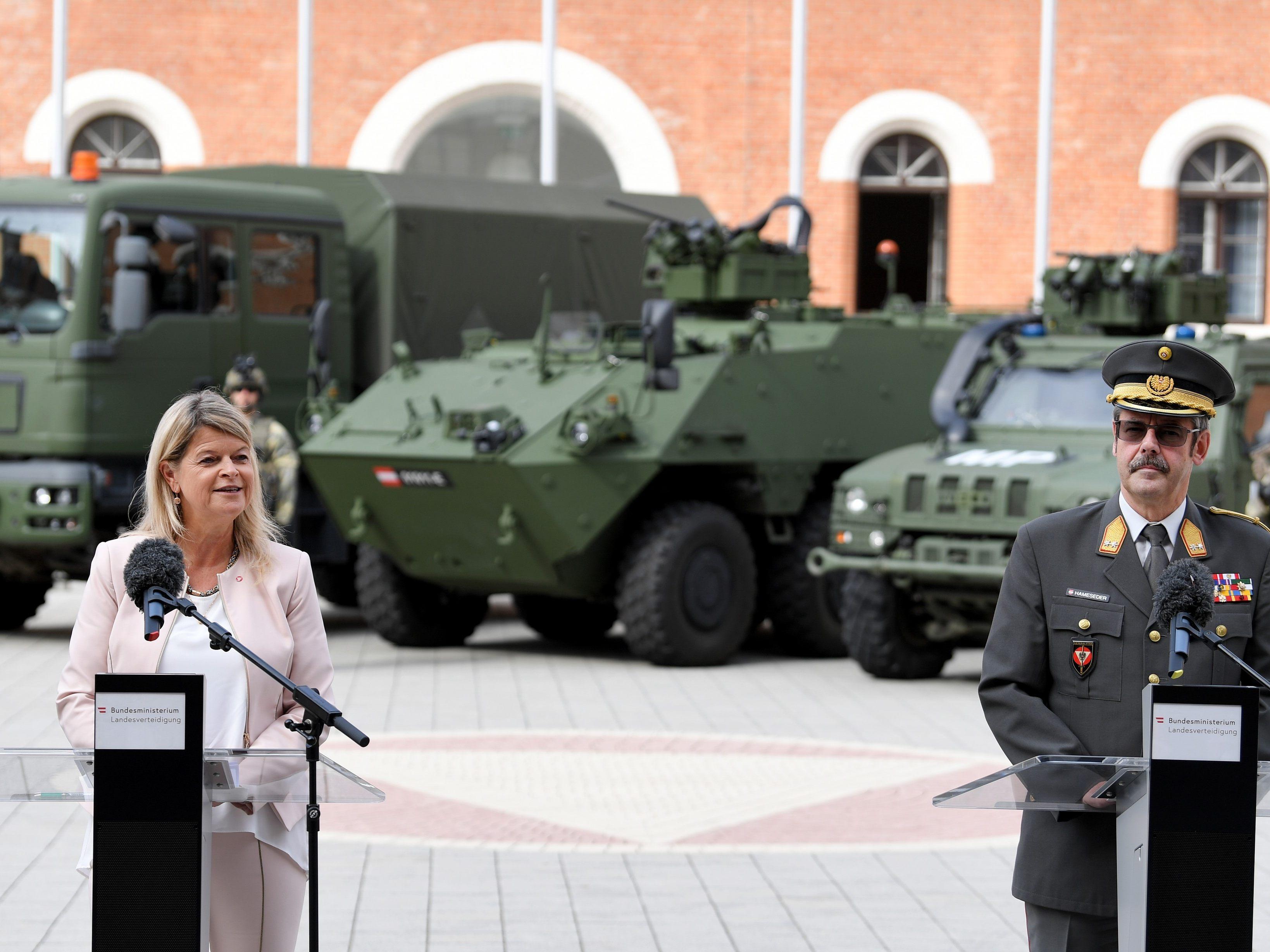Investitionen in Höhe von 200 Mio. Euro: Miliz bekommt neue ...