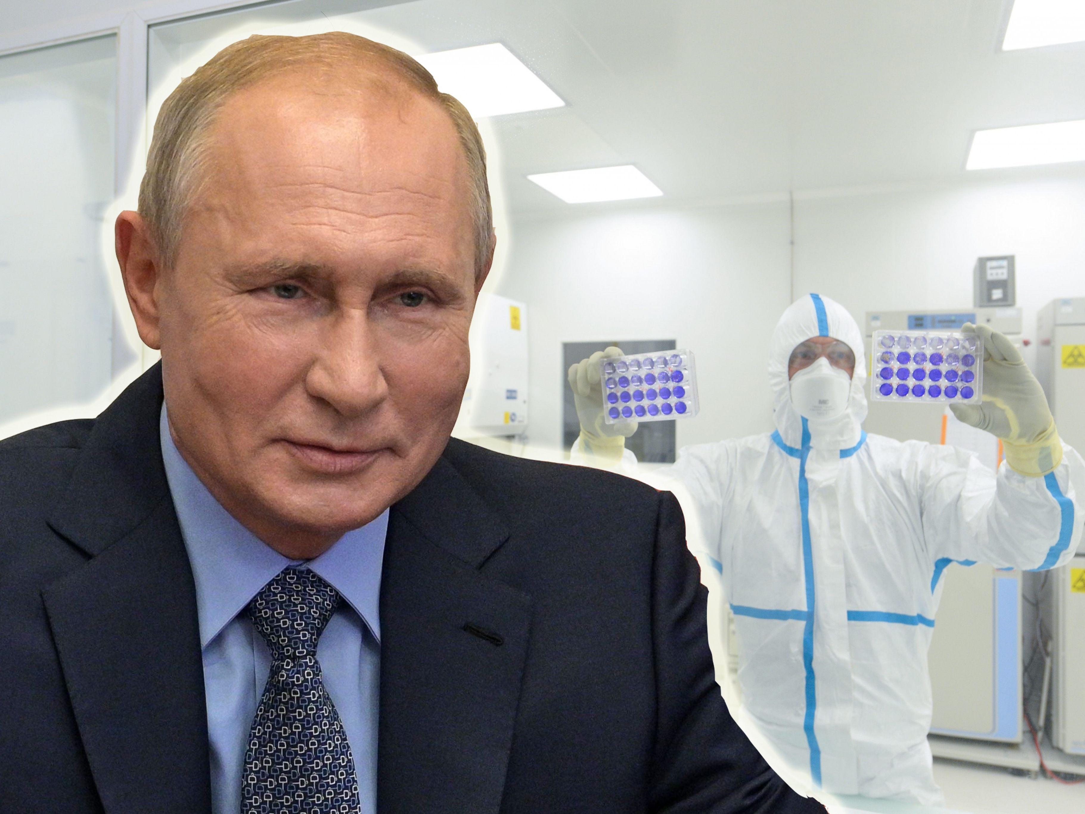 Coronavirus: Putin verkündet Zulassung erster Impfung