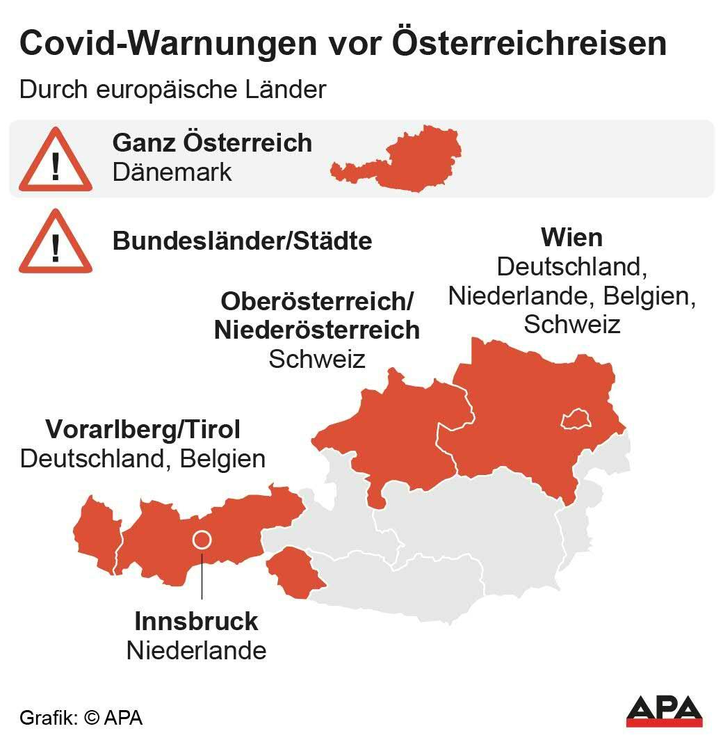 Weitere Deutsche Reisewarnung Nun Auch Tirol Corona Risikogebiet Coronavirus Wien Vienna At
