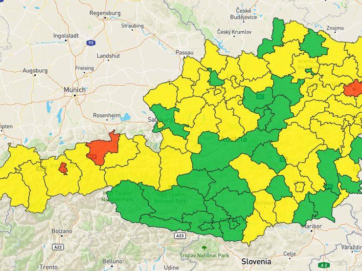 Wiener Forscher Betreiben Seit April Eigene Corona Ampel Coronavirus Wien Vienna At