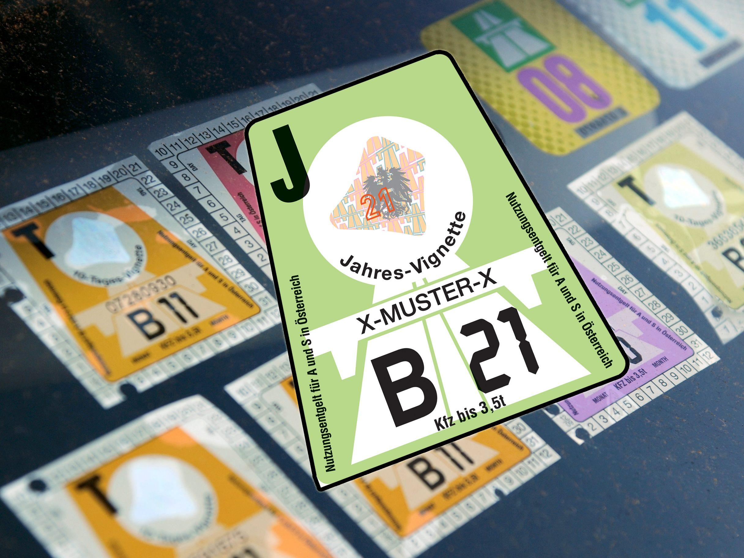 Vignette österreich 2021 Kosten