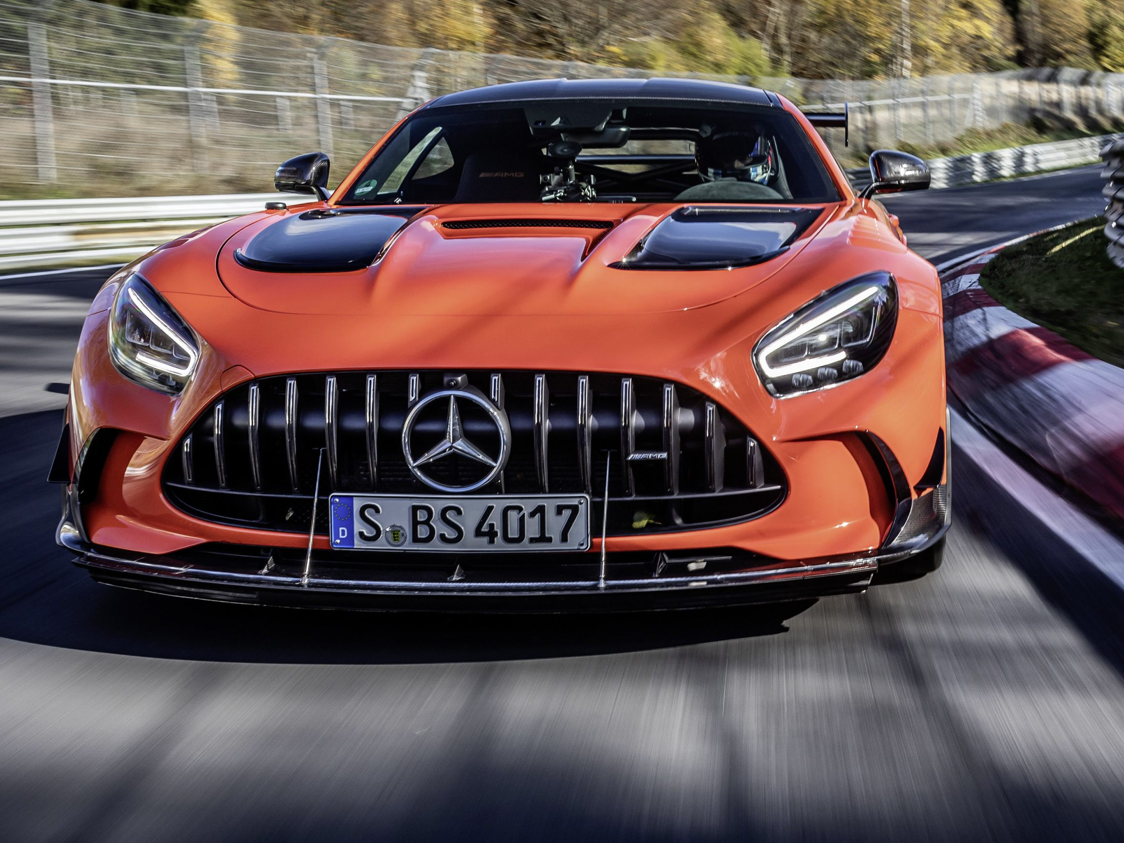 Mercedes-AMG GT Black Series.