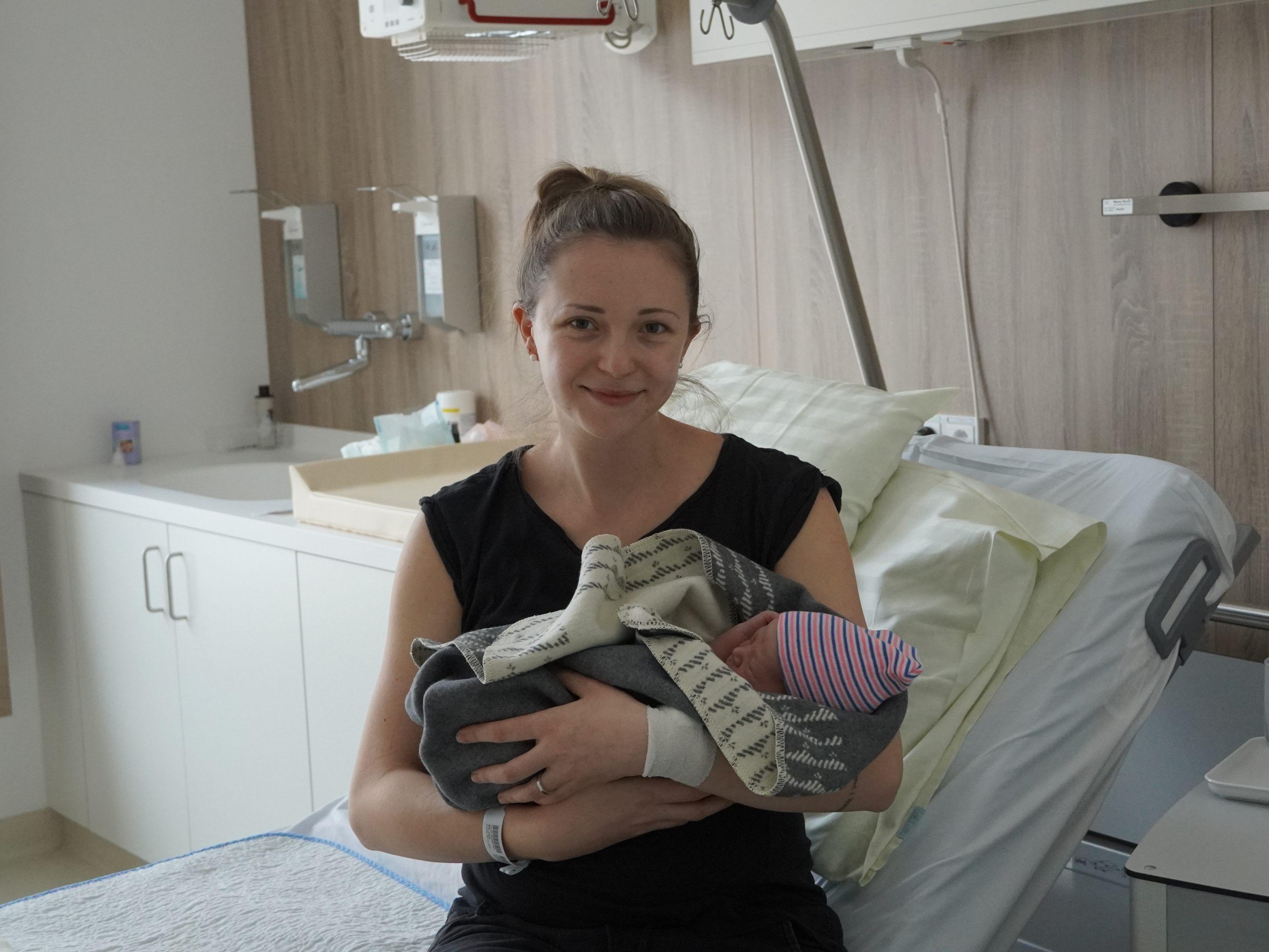Neujahrsbaby: Dimo kam um 0.00 Uhr zur Welt