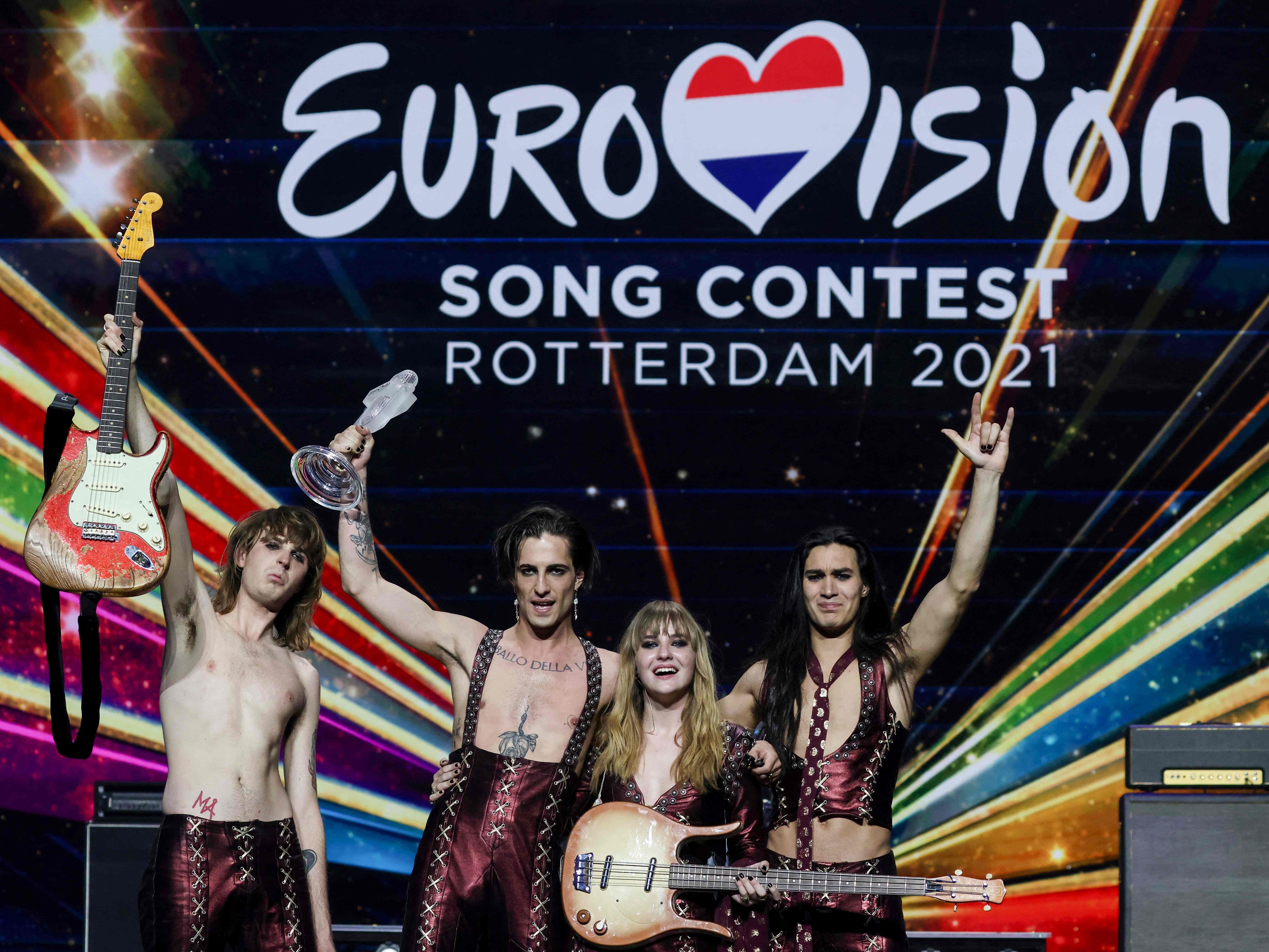 Italien triumphiert beim 20. Eurovision Song Contest   Eurovision ...